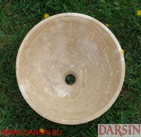 Umywalka z trawertynu (nr. 148)