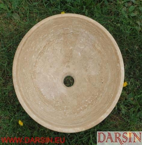 Umywalka z trawertynu (nr. 150)