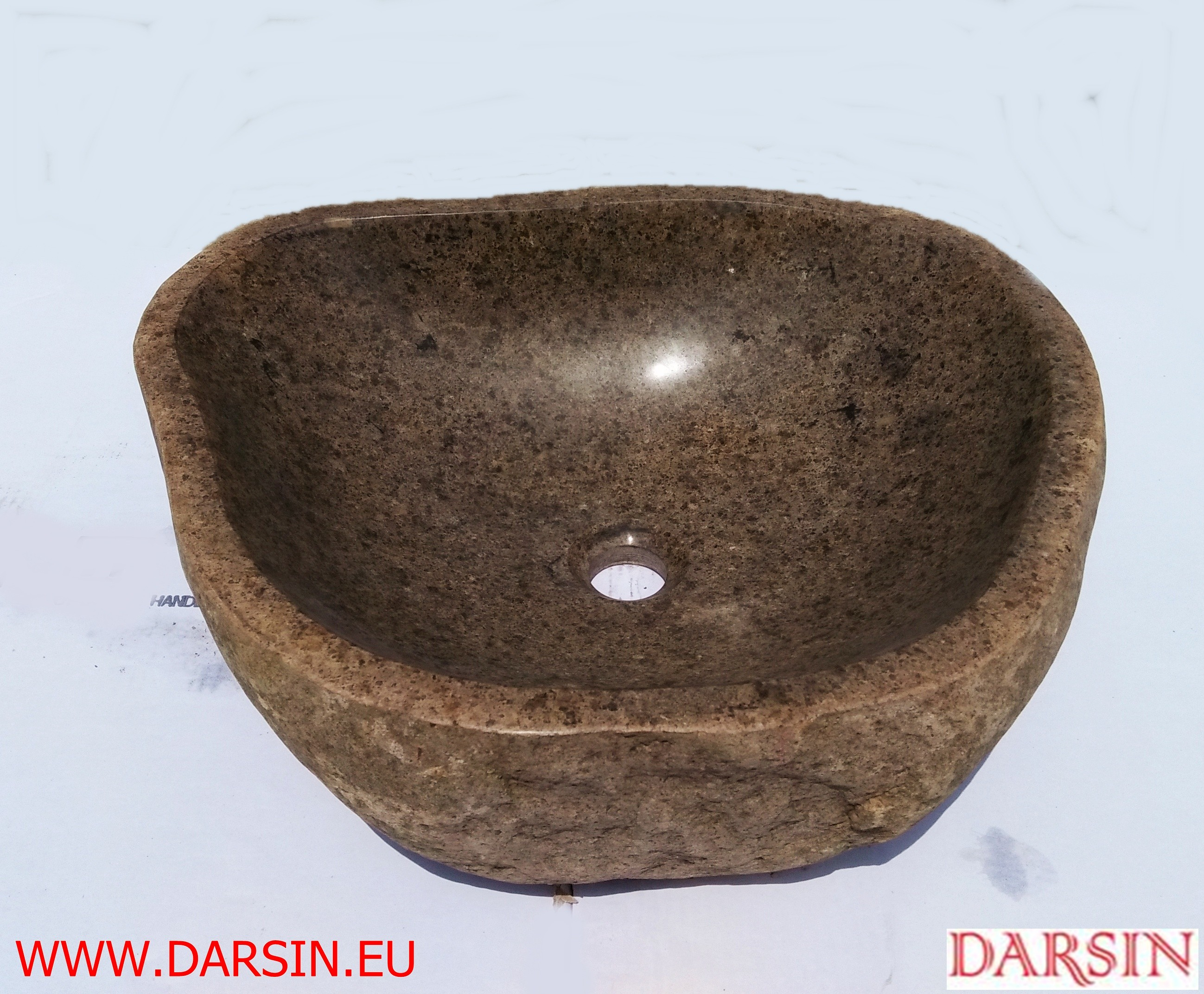 Umywalka z otoczaka (Nr.7)