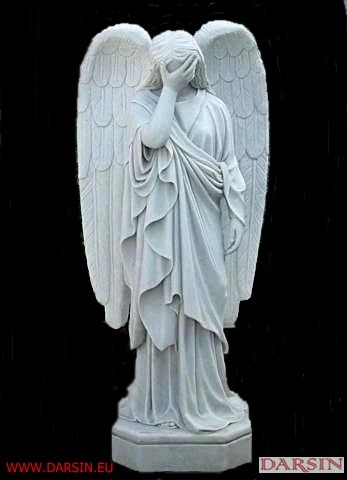 Anioły z marmuru - wzory
