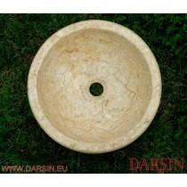Umywalka z marmuru Galala (nr. 84)