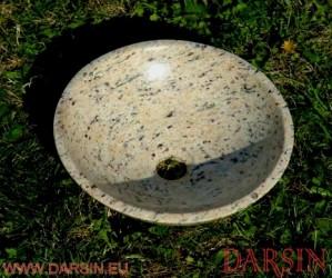 Umywalka z granitu Kashmir Gold (nr. 126)