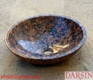 Umywalka z granitu Baltic Brown (nr. 174)