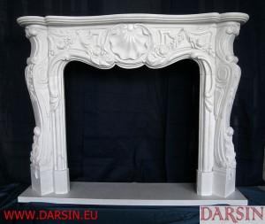 Portal kominkowy z marmuru (DKO4)
