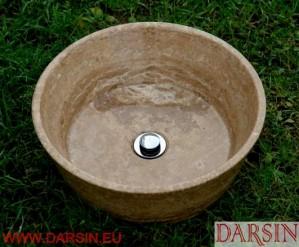 Umywalka z trawertynu (nr. 47)